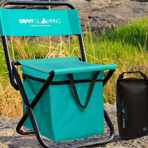 Built-In Cooler Folding Chair