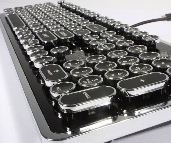 retro typewriter inspired keyboard im buying this. Black Bedroom Furniture Sets. Home Design Ideas