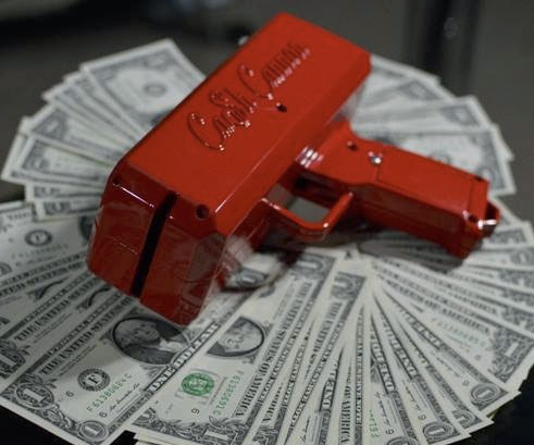 Strip Club Cash Cannon Im Buying This